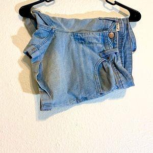 Women's Blue Jean Shorts
